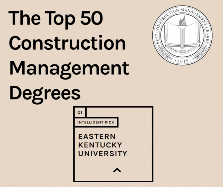 Top Construction Management Degree Programs on Intelligent for 2020