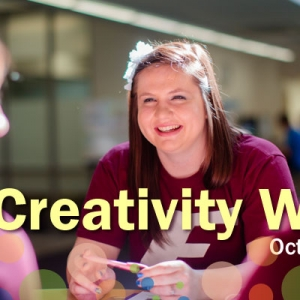 Creativity Week graphic