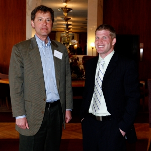 David Dean (left) and Brian Richardson